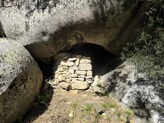 Le hameau d'orii en contrebas Est du castellu : un des orii