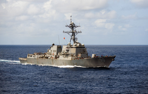 USS Chafee Completes OMSI in Support of Maritime Security