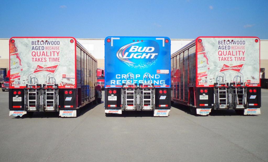 Ajax Turner Anheuser Busch beverage delivery trucks  | Flickr