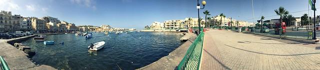 Malta June/July 2015, Marsaskala, bay, boats, summer, vacation