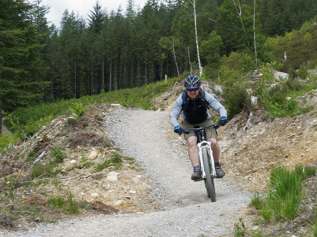 Mountain biking in Wales