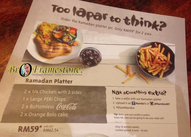 IftarAtNandos - Ramadan Platter