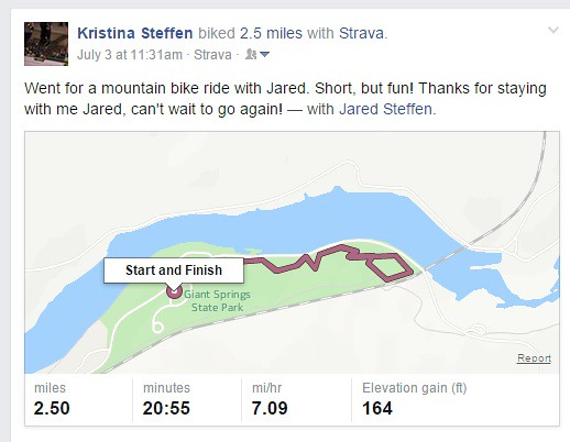 Ride with Jared FB screen shot