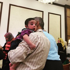 At a marriage ceremony in #Cairo #DailyLifeCairo #DailyLife #babies #Egypt #Weddings