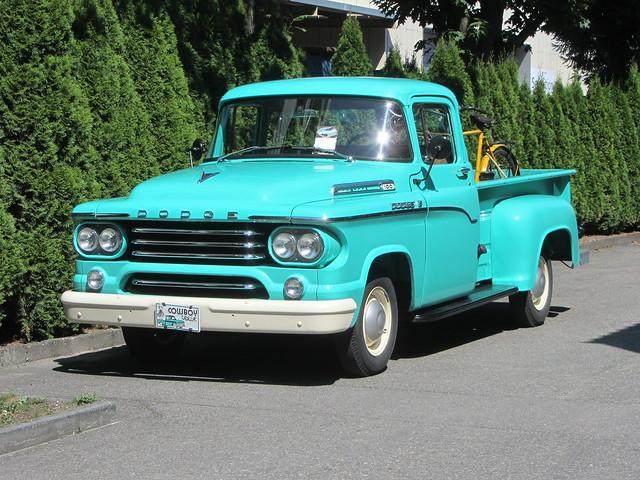 Dodge C Series, 1958-60