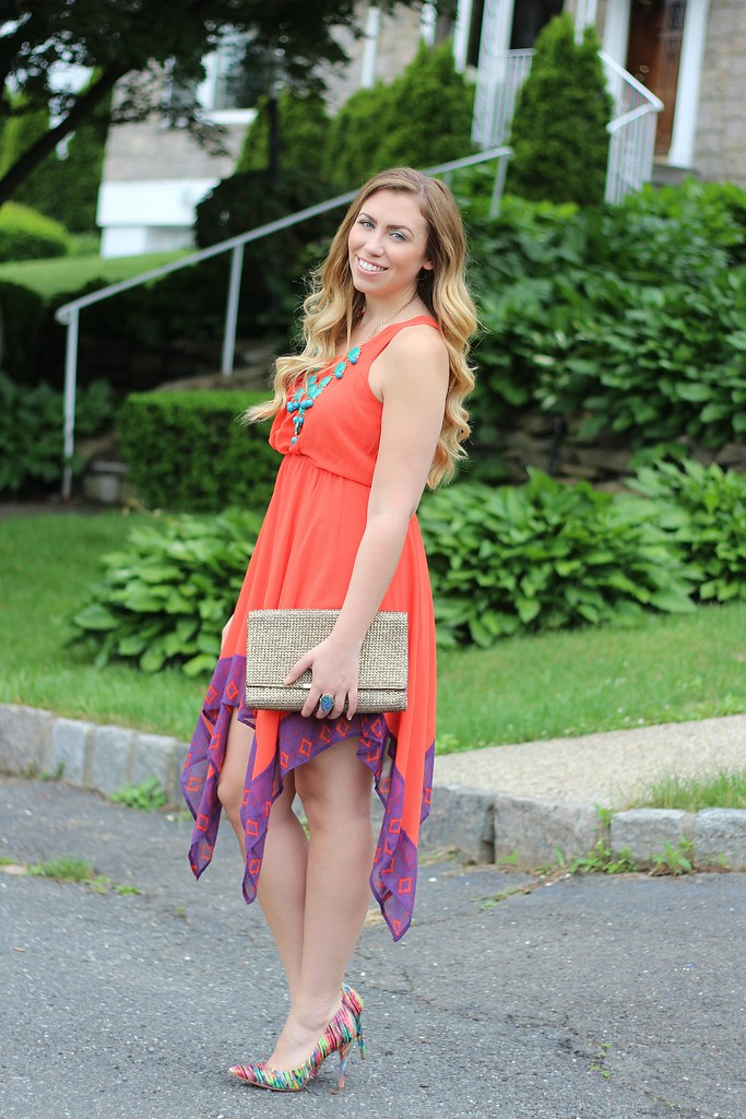 Living After Midnite: Jackie Giardina: Summer Outfit: mark. Avon Shift and Swing Dress