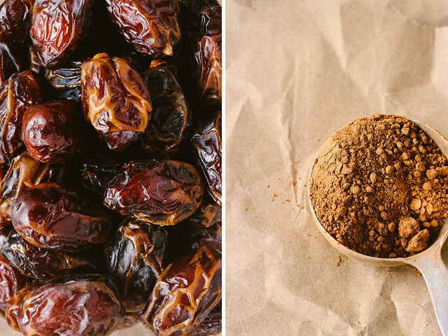 Dates & cacao powder