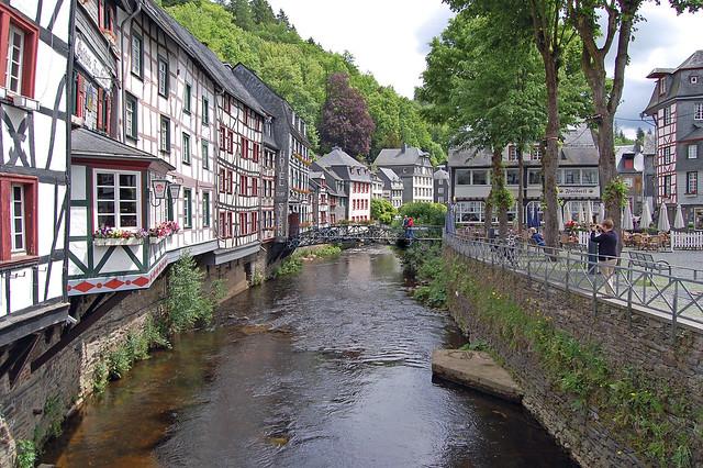 Bezienswaardigheden Eifel Top 10 - Nr 8 Monschau