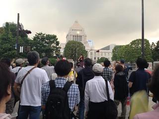 国会前反原発デモ