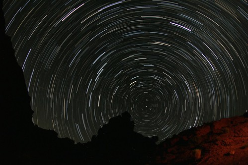 Valley of the Gods startrail