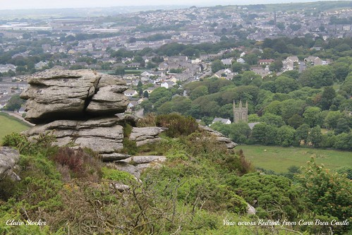 Carn Brea - view over Redruth by Stocker Images