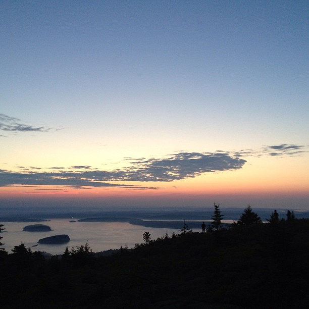 Breaking Dawn #maine #cadillacmountain