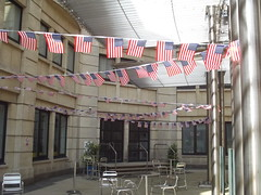 American Independence Weekend - Starbucks, Colmore Row, Birmingham