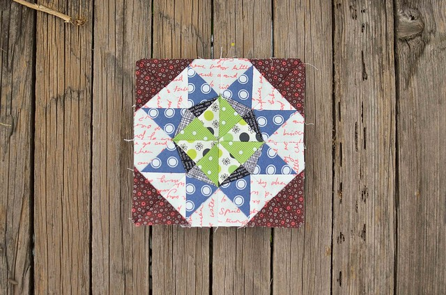 July Lucky Stars Block