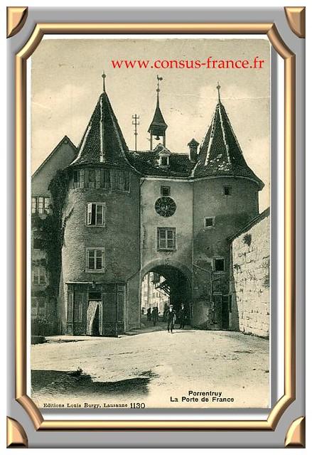 PORRENTRUY - La Porte de France -70-150