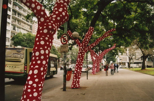 Polka dot trees