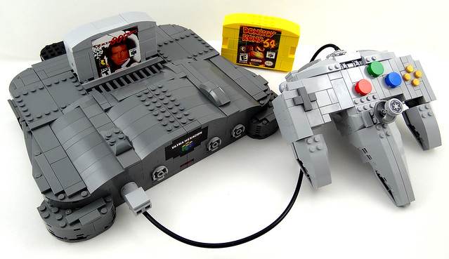 Nintendo 64 Group Shot (vehicle mode)