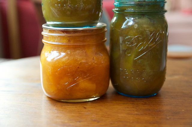 more lazy peach preserves