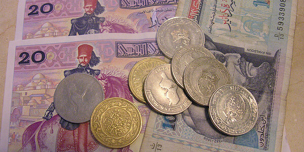 Tunisian currency. Image courtesy Flickr user Cyberslayer (Creative Commons)