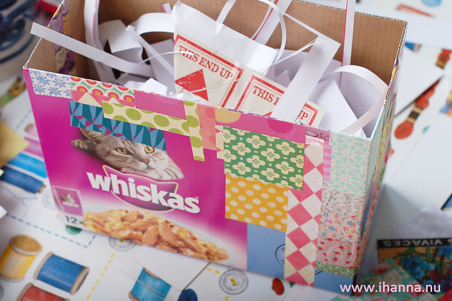 How to Recycle a Whiskas box
