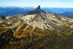 Black Tusk East Face - Summer Aerial I