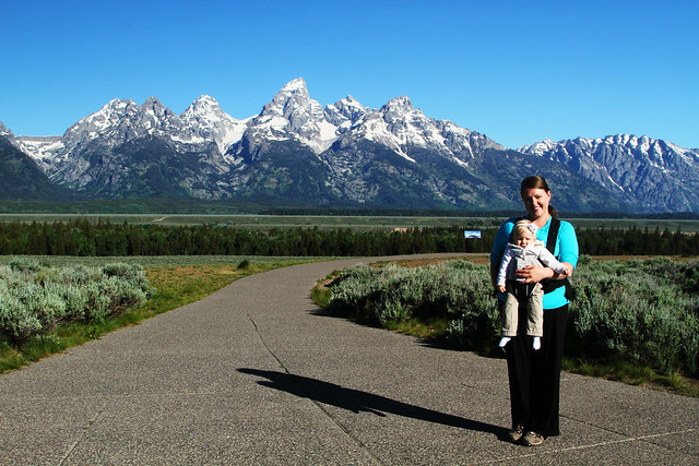 Momma and M at Grand Teton