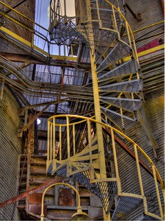 spiral stairs from nowhere to nowhere