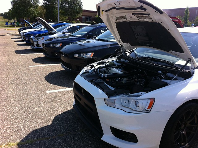 2013 All Mitsubishi Cookout and Car Show