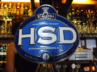 St. Austell, HSD (Hicks Special Draught), England
