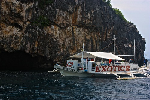 Exotic's dive boat