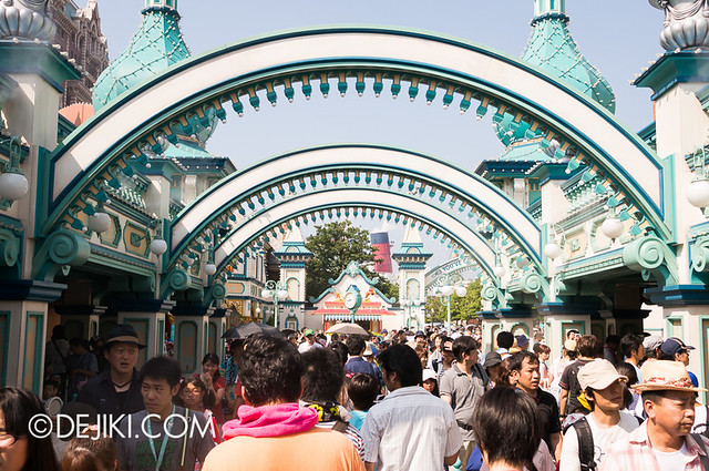 Toy Story Mania - Morning Fastpass Madness - Fastpass queue 2