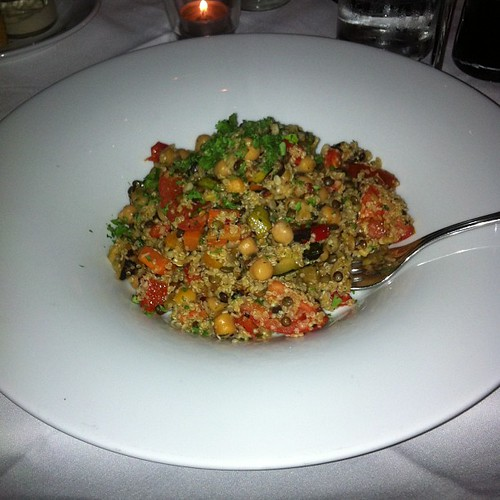 Quinoa saute at Murrieta's #yegfood