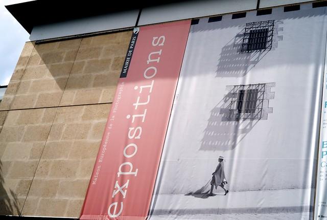 ヨーロッパ写真美術館。サンポール駅ちかく。