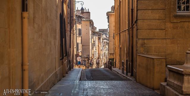 Rue du Bon Pasteur, Aix-en-Provence, Provence-Alpes-Côte d'Azur (PACA), Bouches-du-Rhône, France