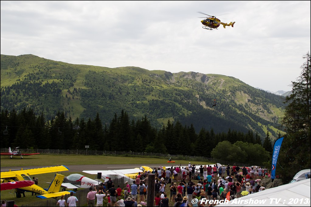 EC-145 Sécurité Civile , Meribel Air Show 2013