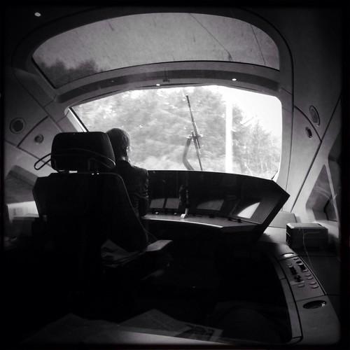 ice train cockpit