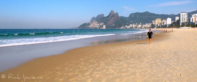 Praia de Ipanema - Ipanema Beach - Rio de Janeiro