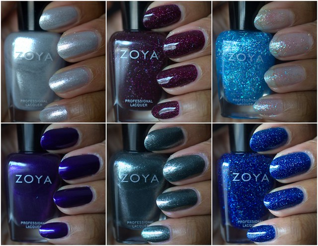 Zoya Zenith nail polish collection