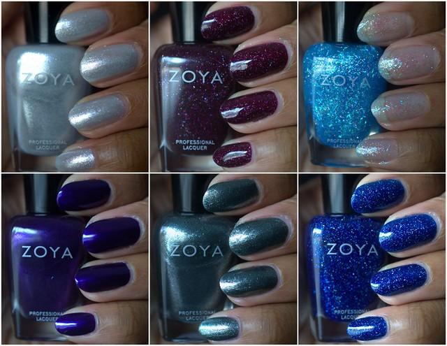 Zoya Zenith nail polish collection