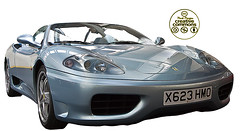 model car(1.0), automobile(1.0), automotive exterior(1.0), wheel(1.0), vehicle(1.0), automotive design(1.0), ferrari f430(1.0), ferrari 360(1.0), bumper(1.0), land vehicle(1.0), luxury vehicle(1.0), supercar(1.0), sports car(1.0),