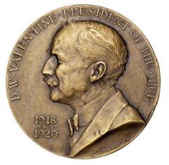 Daniel Valentine medal obverse