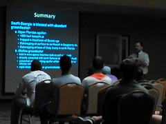 Summary: abundant groundwater from Upper Floridan aquifer and shallow groundwater