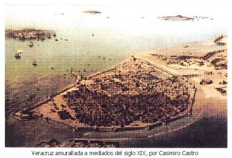 """Veracruz, """"Ciudad colonial;"""