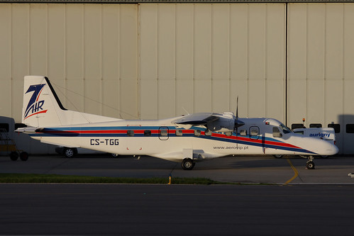 CS-TGG Dornier 228-202 by Guernsey Airport Photography