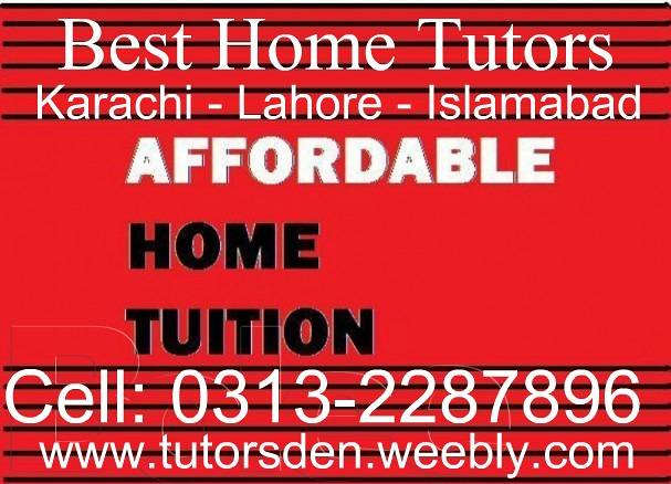 affordable home tuition, tutor in pakistan, education syst