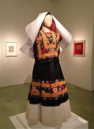 Textile museum black dress
