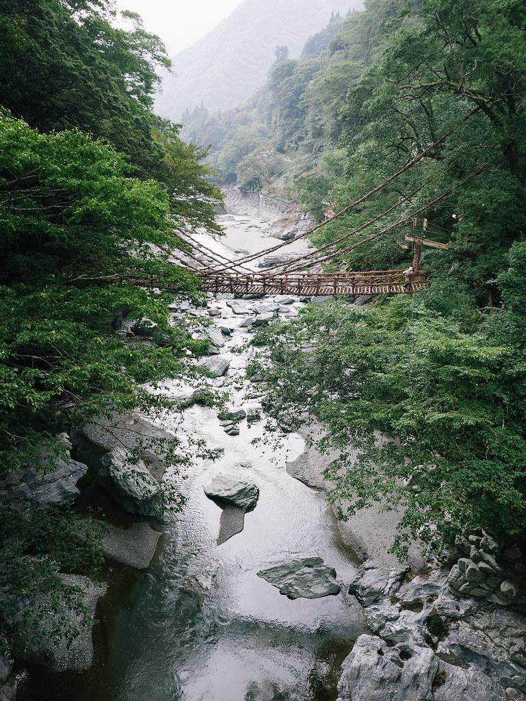 祖谷のかずら橋 Iya Kazura Bridge