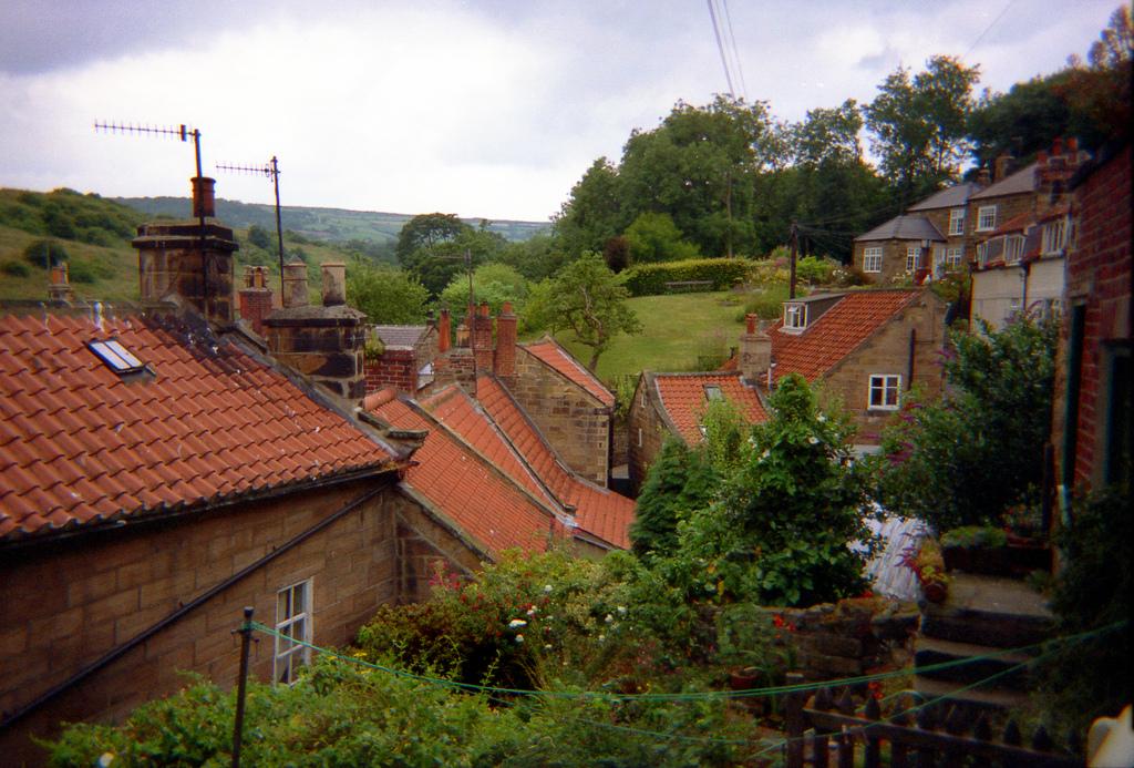 3. Pueblo del Yorkshire. Autor, Mutbka