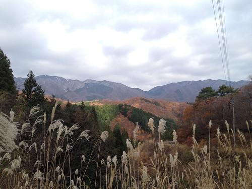 虎子山 駐車場からの展望