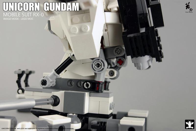 LEGO UNICORN GUNDAM 0012